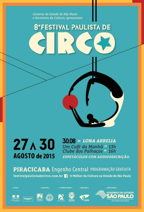 CONVITE 8o FESTIVAL DE CIRCO - Descrição no final do post.