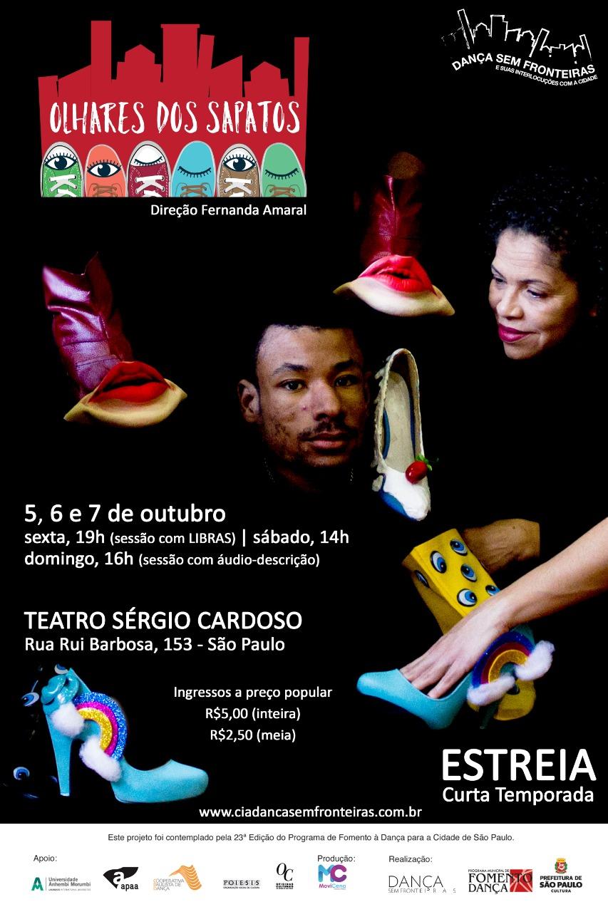 31f67d51a EFLYER OLHARES DOS SAPATOS Cia de Dança sem Fronteiras convida para o  espetáculo: ...